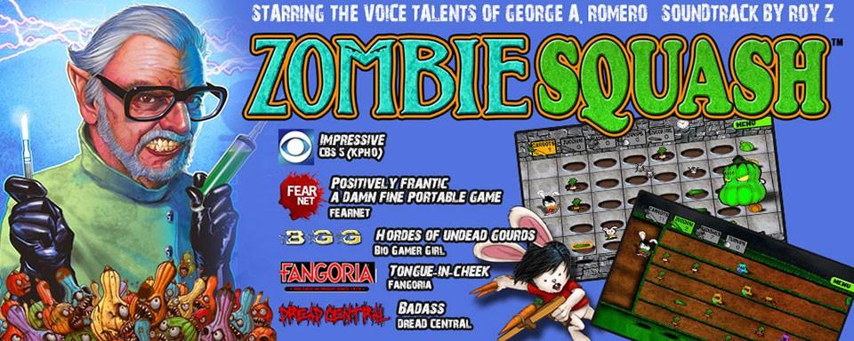 Zombie Squash starring George A. Romero